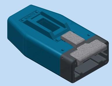redesigned hot drop casing