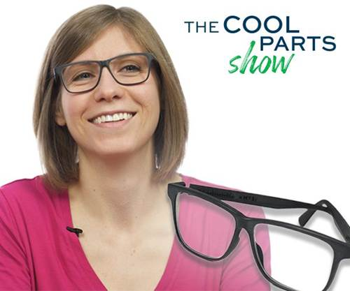 3D Printed Custom Glasses: The Cool Parts Show S2E2