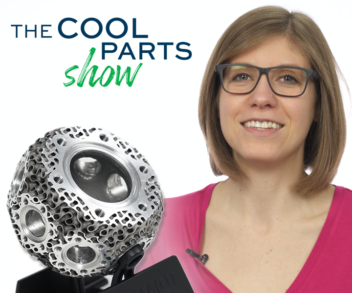 Stephanie Hendrixson, Additive Manufacturing media, The Cool Parts Show