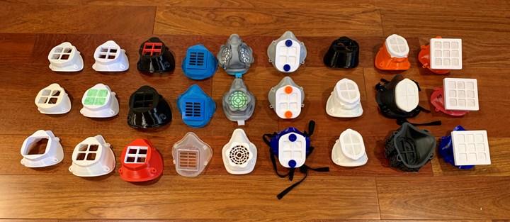 Filtration masks