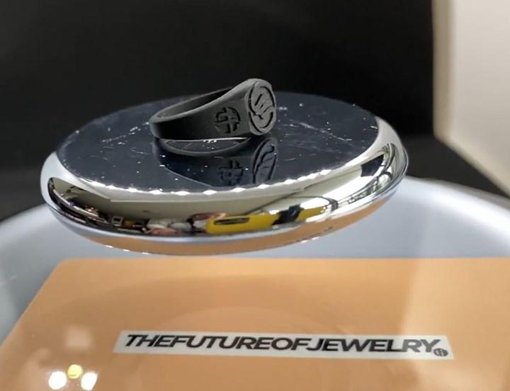 SLS 3D printed ring