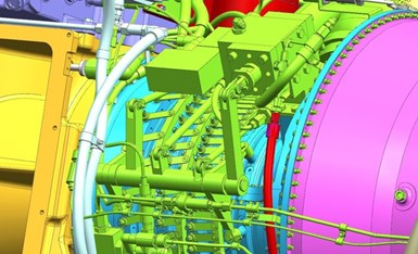 simulated bell crank assembly in ANSYS