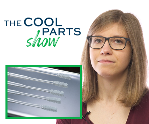 Stephanie Hendrixson, The Cool Parts Show, nasopharyngeal swabs