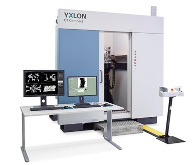 Yxlon CT scanner