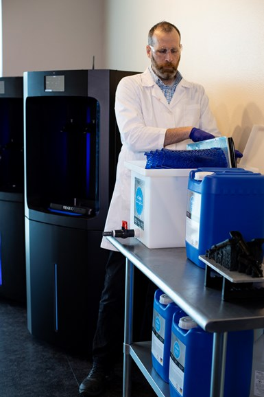 Nexa3D xClean for resin-based cleaners.