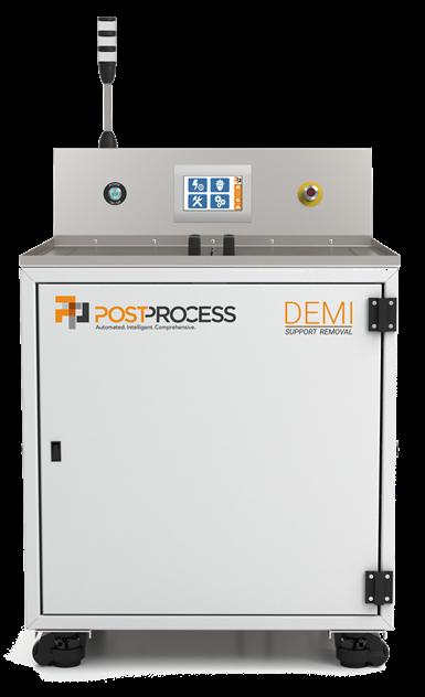 PostProcess Technologies Demi system