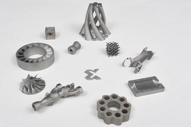XM200C can create metal prototypes.