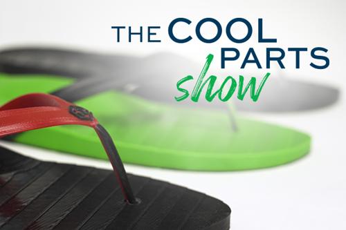 The Cool Parts Show 3D printed flip flops