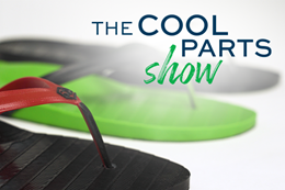 The Cool Parts Show 3D printed flip flops