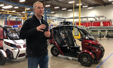 Mark Frohnmayer is Arcimoto's founder