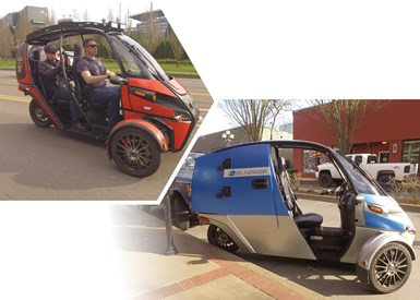Arcimoto has also introduced FUV models tailored to first responders and to delivery.