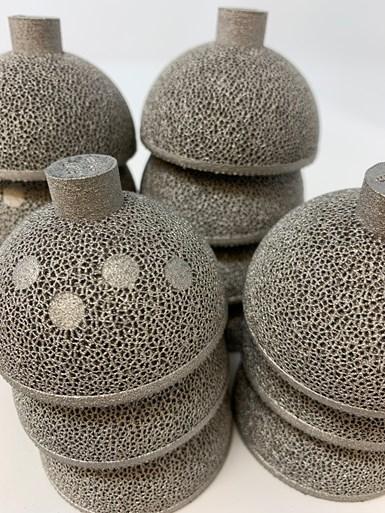 3d printed EBM acetabular hip cups