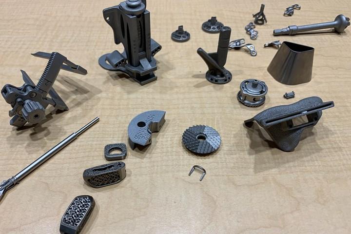 ¿Qué piezas se imprimen en 3D y cuáles se mecanizan?