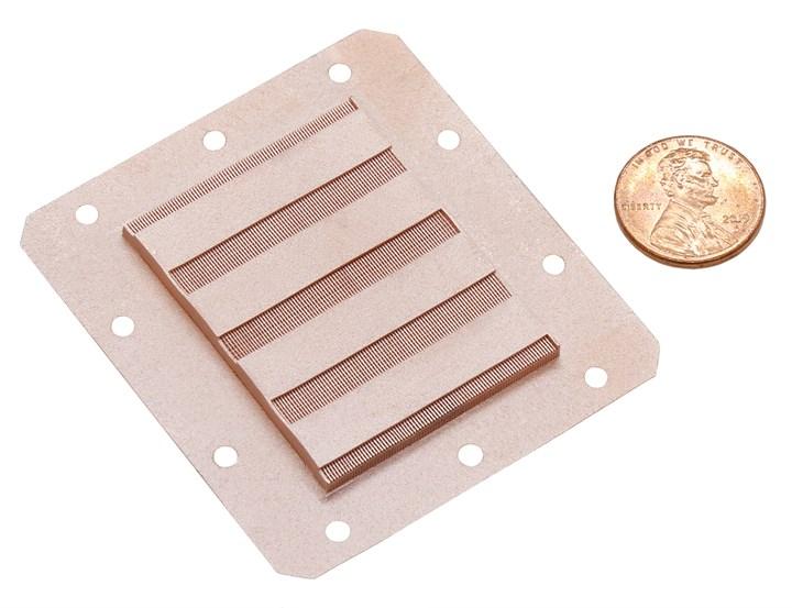 3d printed copper heat exchanger