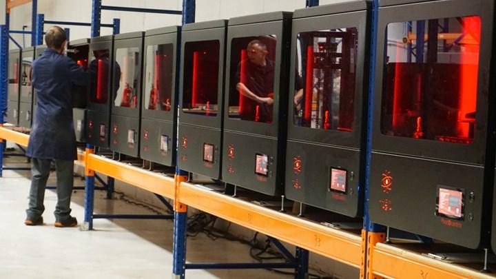 Photocentric 3D printers
