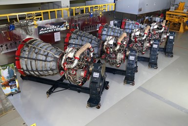 four RS-25 engines
