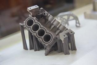 metal-AM-produced part