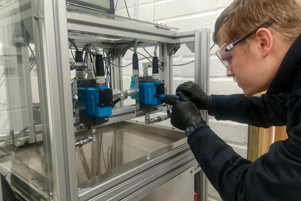 Renishaw Metal AM Enables Domin to Create CO2-Reducing Valve image