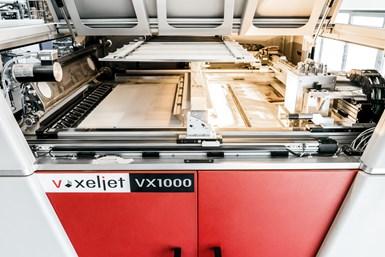 A photo of voxeljet's VX1000