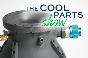 Lightweight Combustion Chamber for 3D Printed Rocket Engine: The Cool Parts Show #30