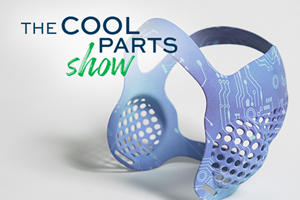 3D Printed Headgear that Can Take a Hit: The Cool Parts Show #31