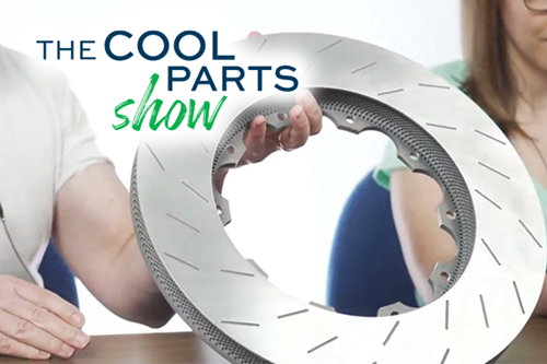 Lighter, Better-Performing Brake Rotor From 3D Printing: The Cool Parts Show #27