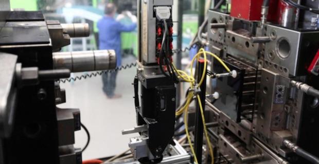 Tooling at Plastivaloire, Langeais test center