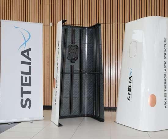 Stelia's thermoplastic structure demonstrator