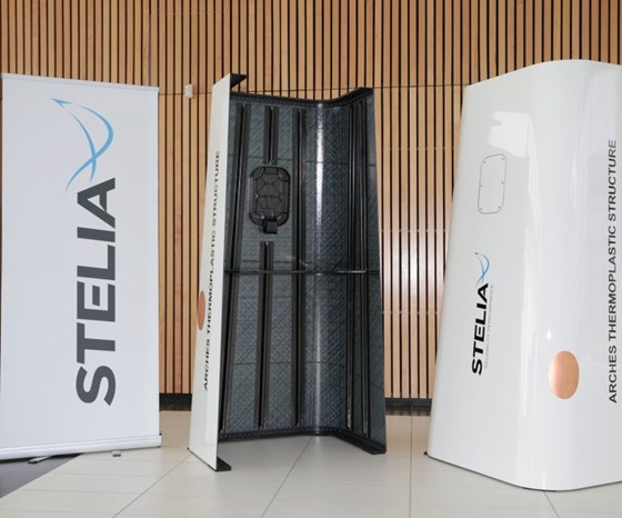 Stelia's thermoplastic structure demonstrator
