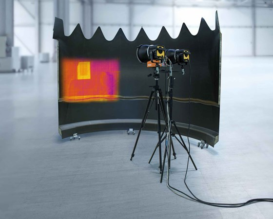 FACC active thermography new test method.