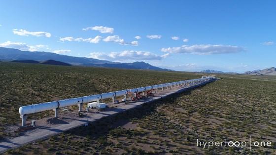 Hyperloop One testing
