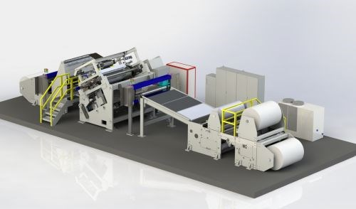 Cygnet Texkimp delivers 50-inch reverse roll coater for aerospace prepreg