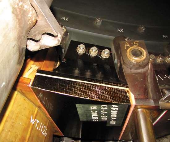 spacers, compressor hub, rotor blades