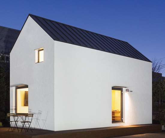 completed Gable house