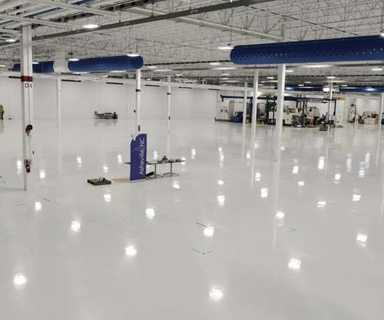 GE Aviation's 13,000m2 production area