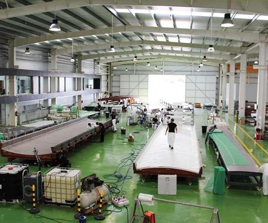 Carbures factory floor