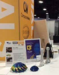IBEX 2017 Future Materials exhibit Mcor Technologies 3D printed paper impellers molds