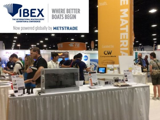 IBEX 2017 show report Future Materials exhibit