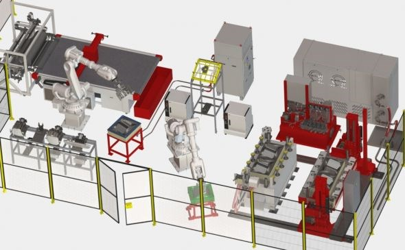 Composite Alliance Corp and TechniModul Engineering design automated composites production lines