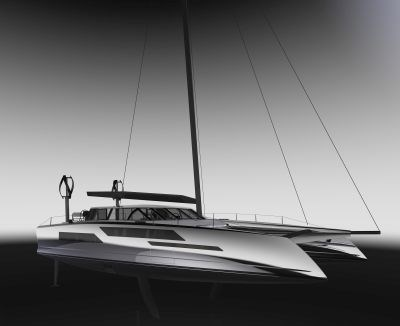 Daedalus Yachts carbon fiber composite sailing catamarans electric powert