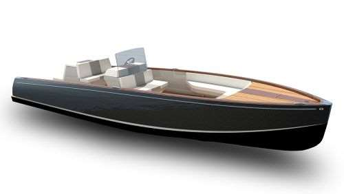 Hinckley Yachts all-electric Dasher boat uses carbon composite hull stringers