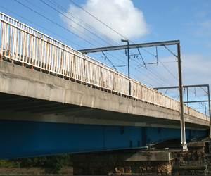 Rail line landmark restoration via pultrusion