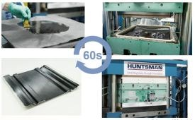 wet compression molding Huntsman dynamic fluid compression molding composites