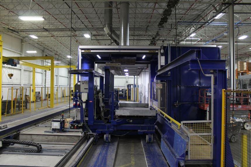 Romeo RIM long fiber injection LFI composites demolding parts