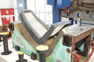 Israel Aerospace Industries automated preforming and trimming of dry fabric for net-shape RTM parts
