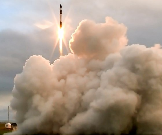 Rocket Lab's prototype launch