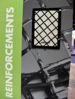 CAMX 2017 Chomarat C-GRID shear grid carbon fiber epoxy composite reinforcing grid
