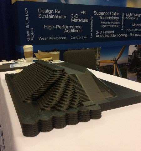CAMX 2017 Techmer PM custom carbon fiber compounds for 3D printing