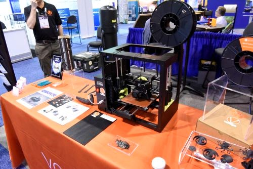 CAMX 2017 Vartega recycled carbon fiber 3D printer filament