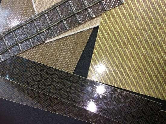 CAMX 2017 Depestele flax fiber Texonic hybrid fabrics carbon fiber aramid fiber